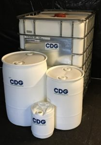 barrels full of chlorine dioxide